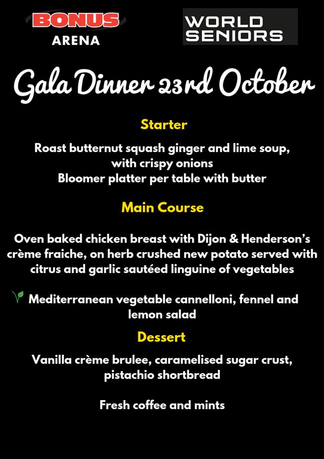 UKChampionship Gala Dinner