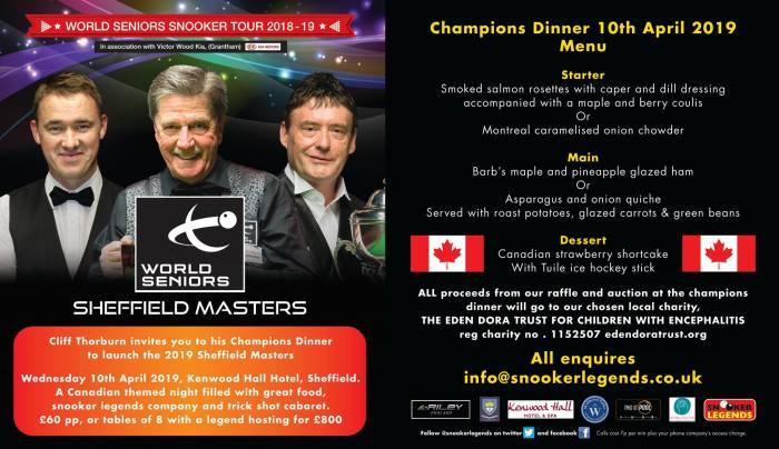 ROKiT Masters 2019 Gala Dinner