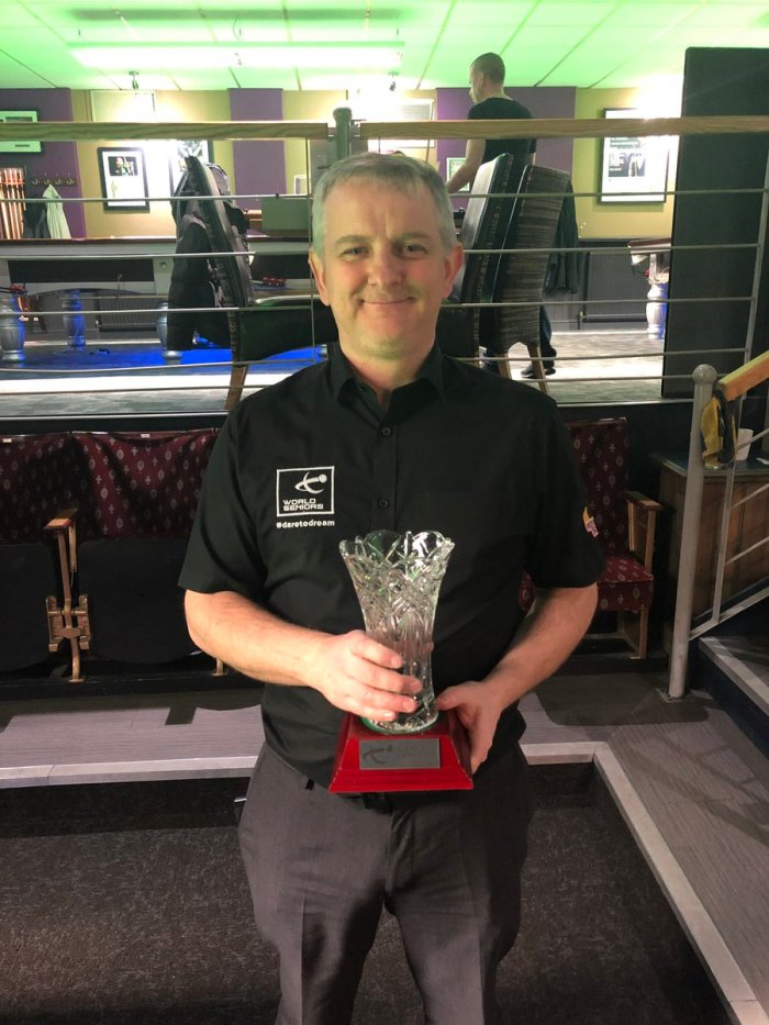Barry Pinches Leeds Masters 2019 Quals winner