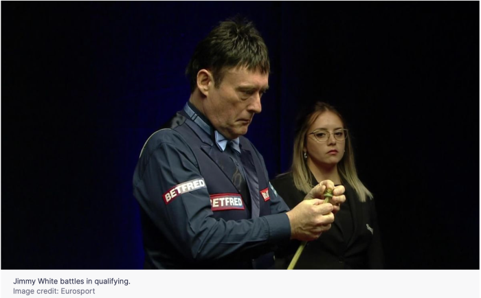 Jimmy White - R2 of the 2020 WC Quals