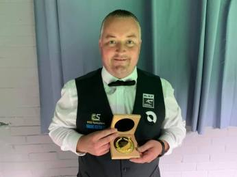 Wayne Cooper 2021 UK Champs Q-School 2, event 1 laureate